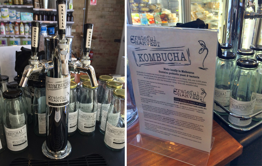 Kombucha on tap - Apples & Sage Organic Wholefoods