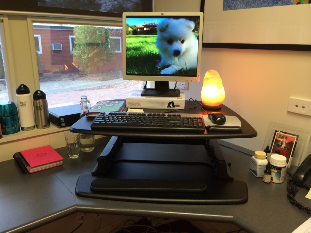 Varidesk - assembled for standing